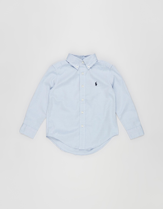 Polo Ralph Lauren - Custom Fit Cotton Oxford Shirt - Kids