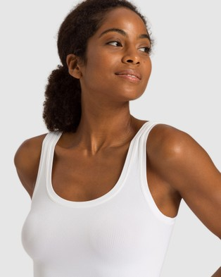 HANRO Touch Feeling Tank Top - Tops (White)