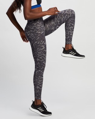 adidas Performance Believe This Graphic Long Tights - Full Tights (Grey Three & Print)