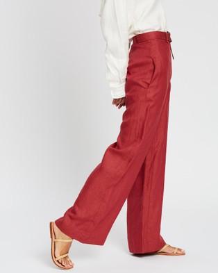 BONDI BORN Utility Pants - Pants (Terracotta)