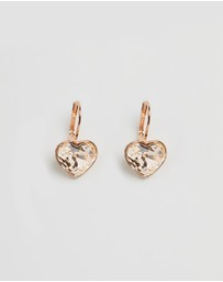 Swarovski - Bella Heart Pierced Earrings