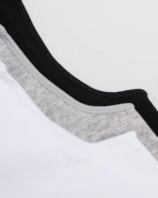 Staple Superior 6 Pack No Show Socks - No Show Socks (Assorted)