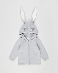 Fox & Finch - Cotton Tail Rabbit Cardigan - Babies