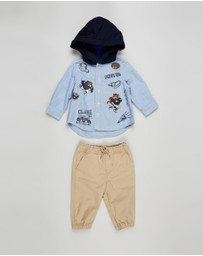 Polo Ralph Lauren - Hoodie & Pants Set - Babies