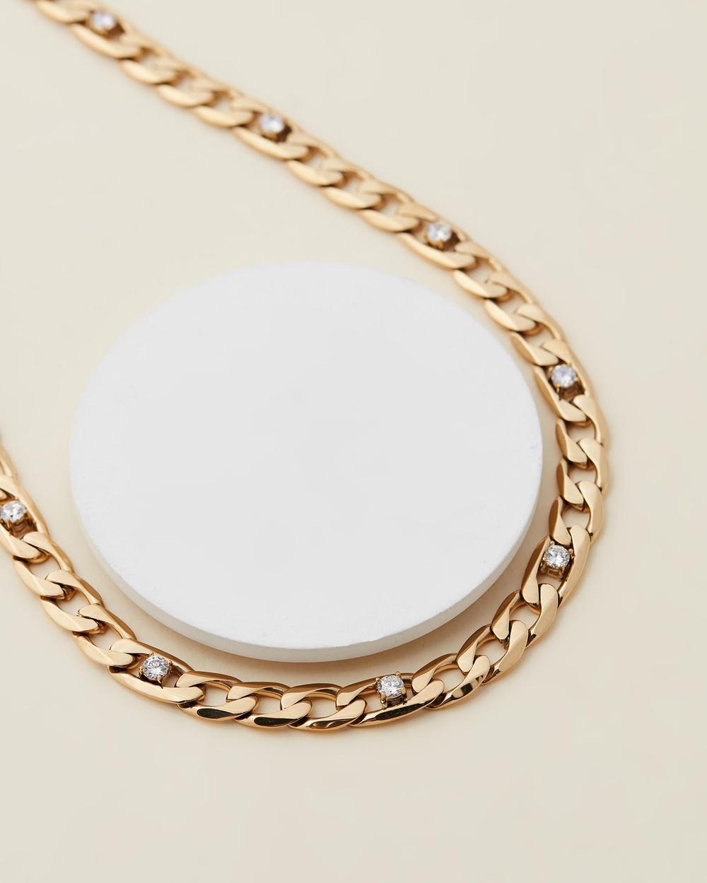 Jackie Mack Taylor Necklace Jewellery 18k Gold