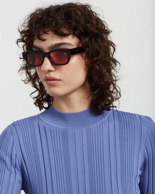 AKILA - Zed Sunglasses (Black, Rose & Silver)