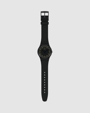 Swatch BLACKNYELLOW - Watches (Black)