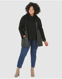 Advocado Plus - Huntington Contrast Puffer Jacket