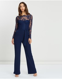 Miss Holly - Heidi Lace Pantsuit
