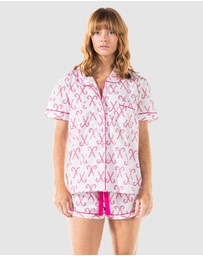 Sant And Abel - Candy Cane Shirt + Boxers Set