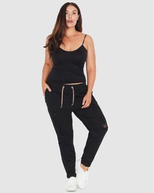 17 Sundays Warpaint Joggers - Jeans (Black)