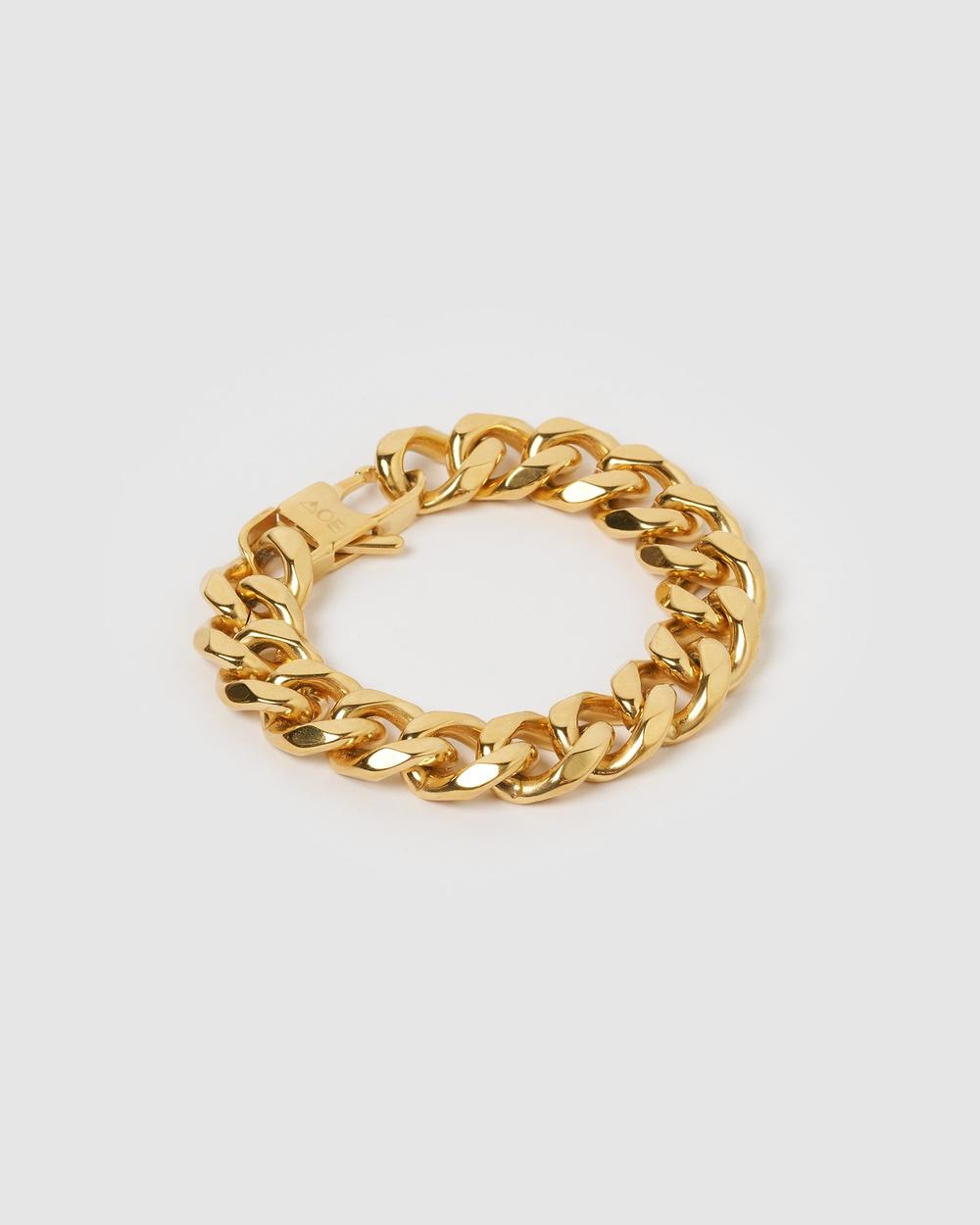 Arms Of Eve Giuseppe Gold Bracelet Medium Jewellery Gold