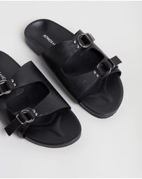 Atmos&Here - Mara Leather Slides