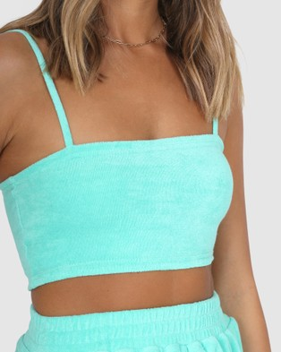 BY.DYLN Dominic Crop - Sports Tops & Bras (Mint)