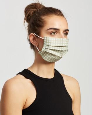 M.N.G Face Mask   2 Pack - Face Masks (Pastel Green)