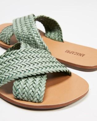 Anacapri Tresse Flats - Sandals (SAge)