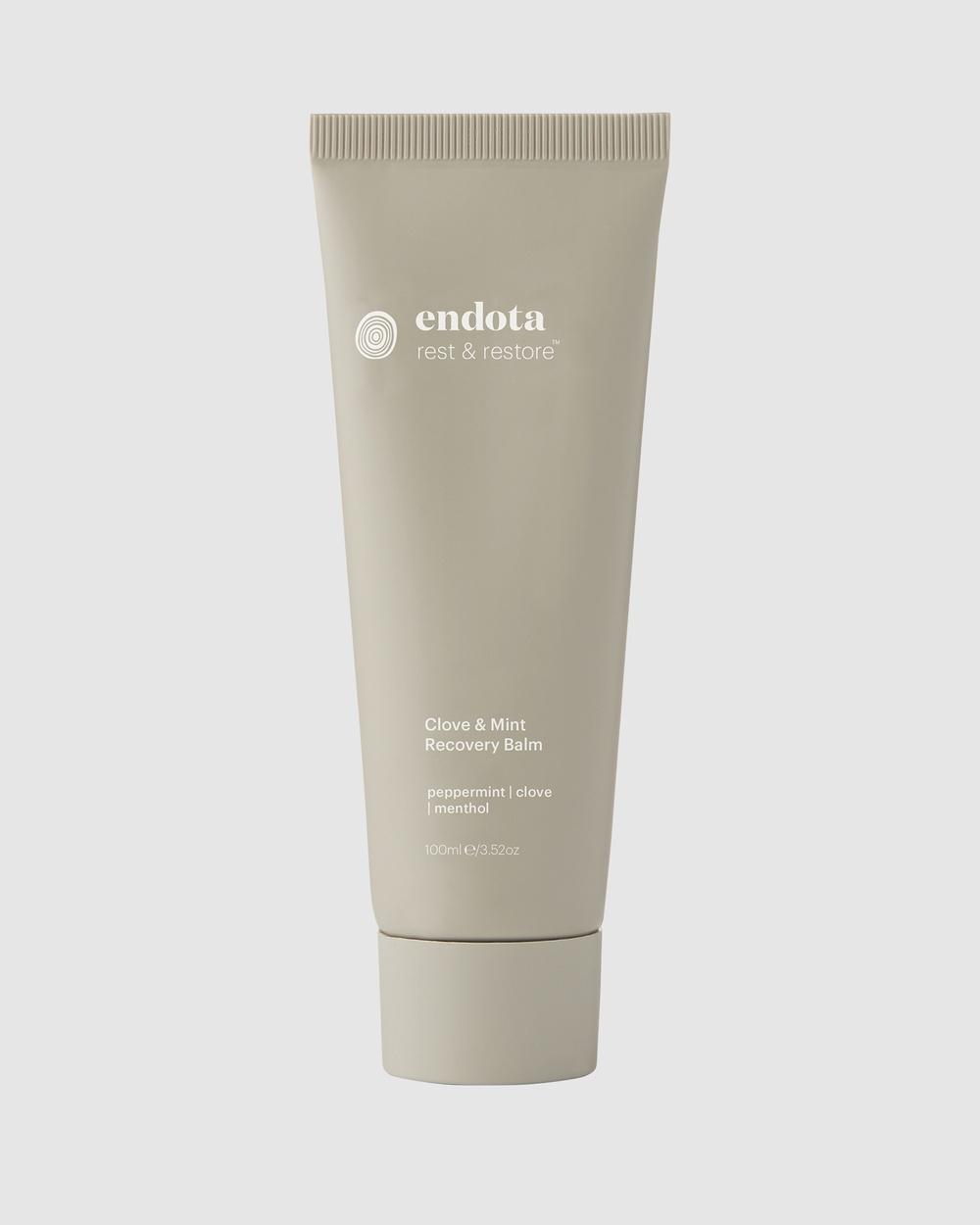 Endota Rest & Restore Clove Mint Recovery Balm Massage