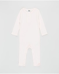 Cotton On Baby - The Rib Snap Romper - Babies