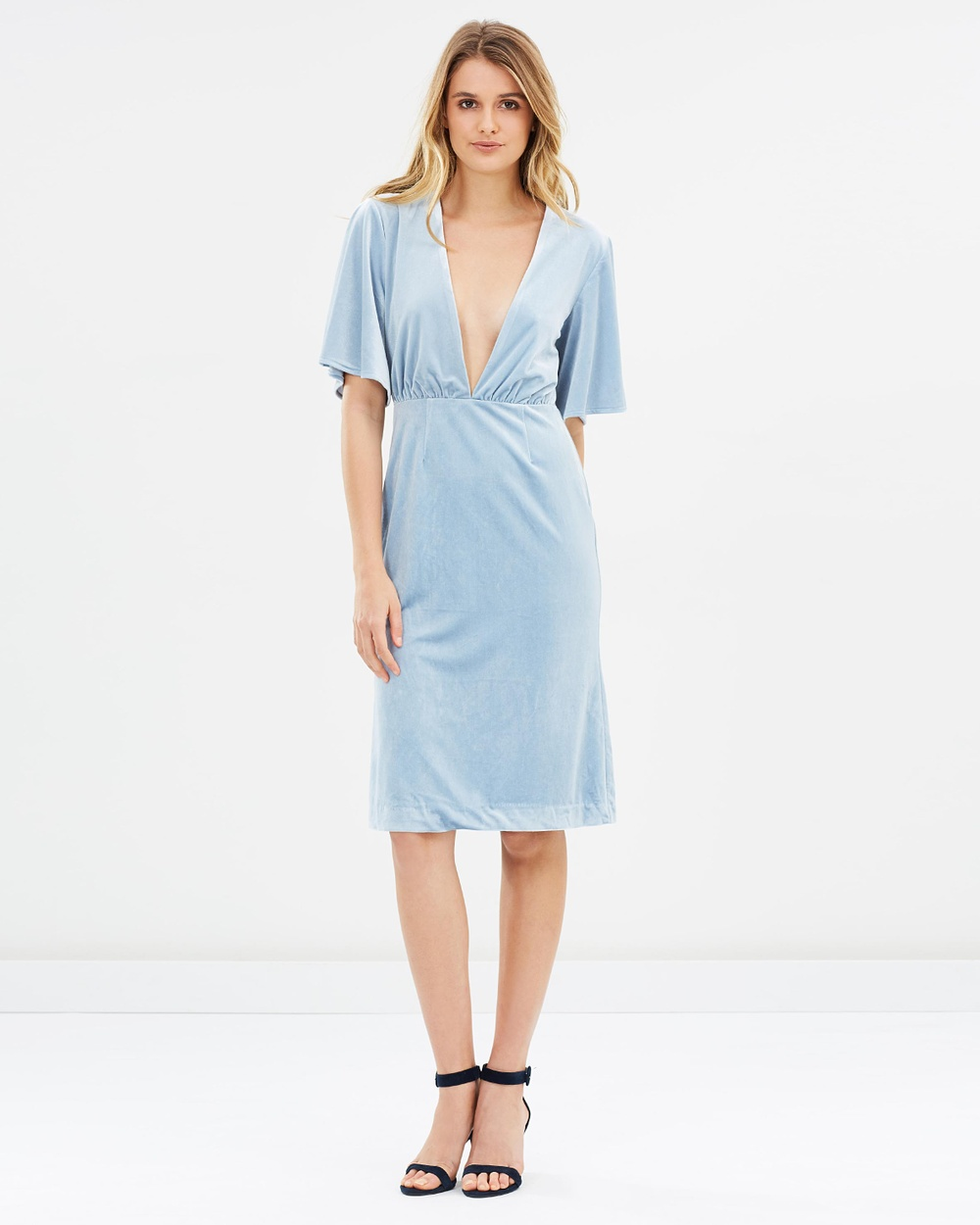 Isla Insurgency Dress Dresses Dust Blue Insurgency Dress