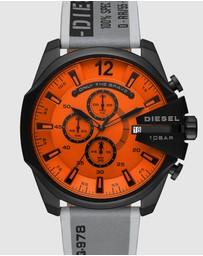 Diesel - Mega Chief Grey Chronograph Watch DZ4535