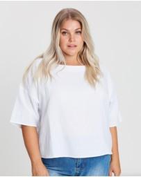Atmos&Here Curvy - ICONIC EXCLUSIVE - Oversized Top