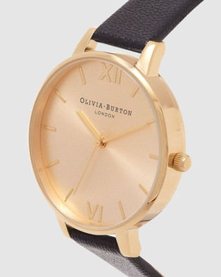 Olivia Burton Big Dial - Watches (Black)