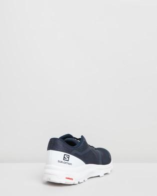 Salomon Outbound Shoes   Men's - Walking (Navy Blazer, White & White)