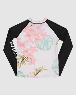 Infamous Swim Mini Billie Rashie Top - Swimwear (Print)