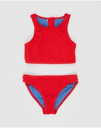 Duskii - Yara Crop Bikini Set - Teens