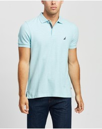 NAUTICA - Solid Slim Fit Deck Polo