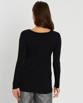 Cotton On Maternity 2 In 1 LS Top - T-Shirts & Singlets (Black)