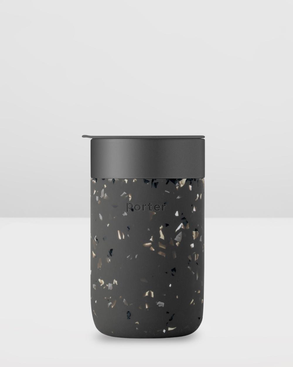 Porter Ceramic Mug Terrazzo 480ml Home Black