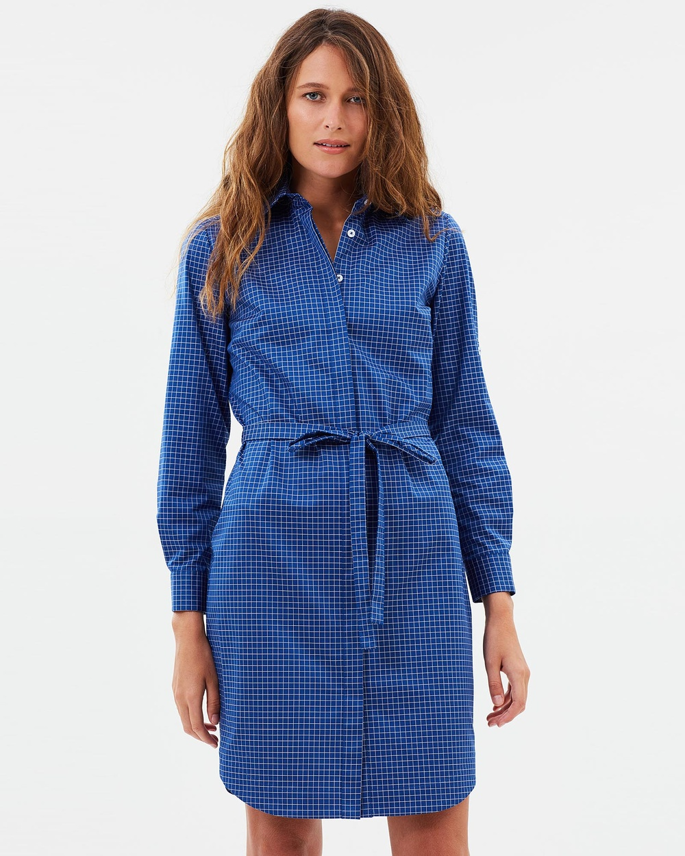 Farage Lucinda Shirt Dress Dresses Blue Lucinda Shirt Dress