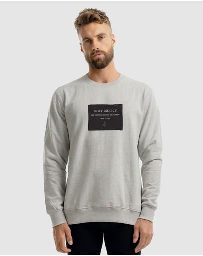 Dvnt Supply Crewneck Grey