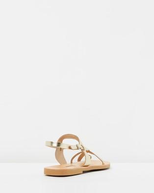 Ammos Myrto Sandals - Sandals (Gold)