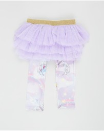 Rock Your Baby - Iconic Exclusive - Purple Rain Baby Circus Tights - Babies