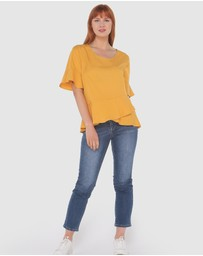 Privilege - Tierra Frill Top