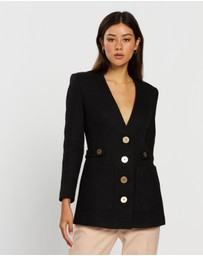 CAMILLA AND MARC - Eleanor V-Neck Jacket