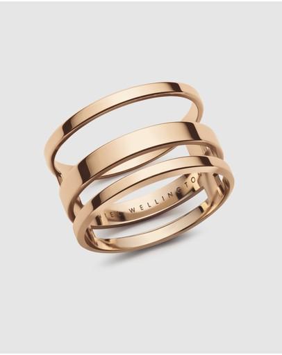 Daniel Wellington Elan Triad Ring Rose Gold