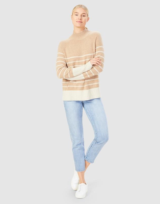 Women Cosy Stripe Knit
