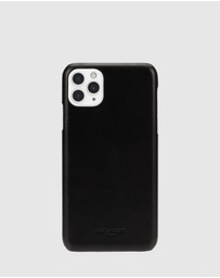 Coach - Coach Leather Slim Wrap Case For iPhone 11 Pro Max