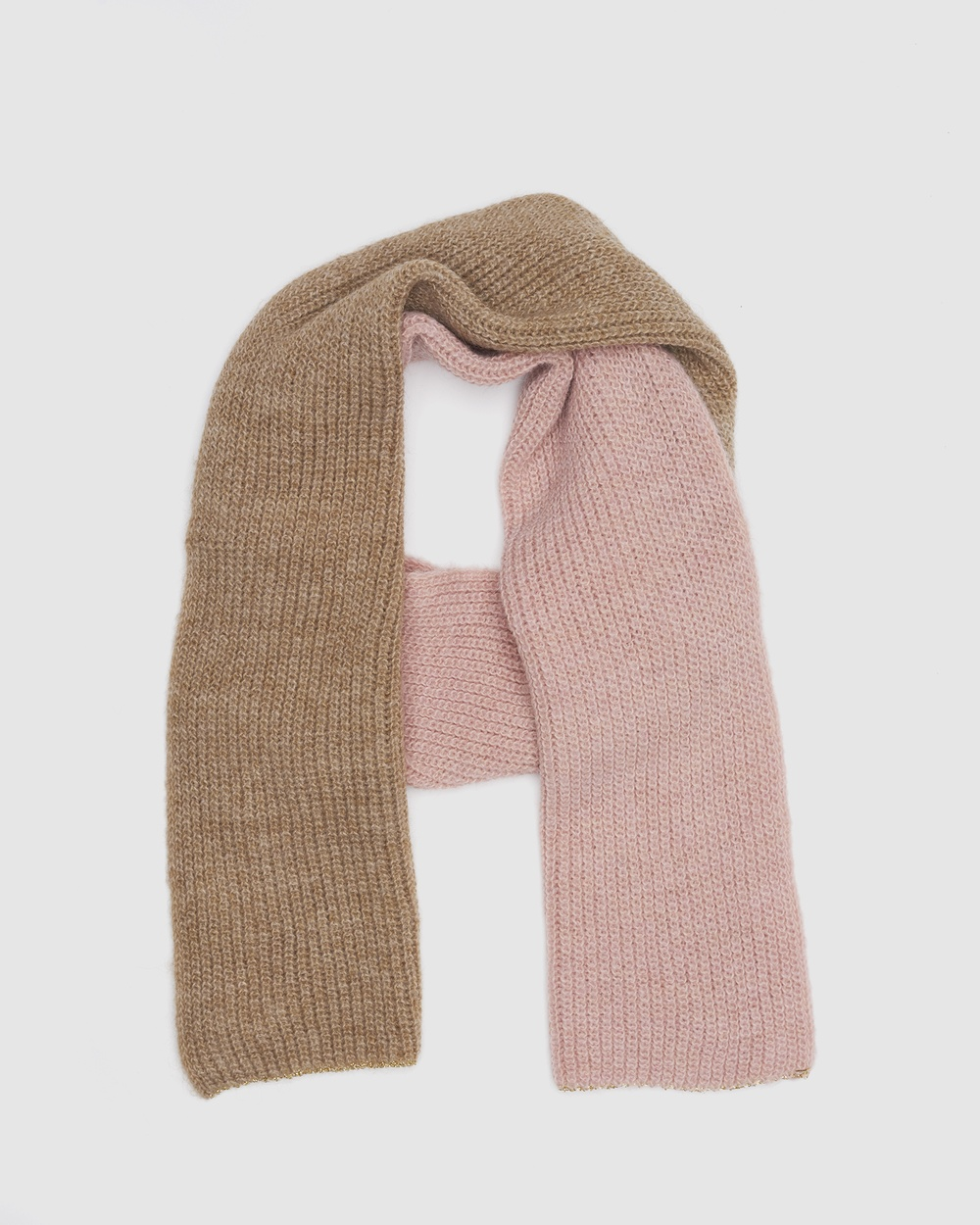 Kate & Confusion Livigno Scarf Scarves Gloves Pink