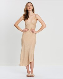 FRIEND of AUDREY - Paige Bias Cut Slip Dress