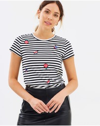 Marcs - Stripe Badge Tee