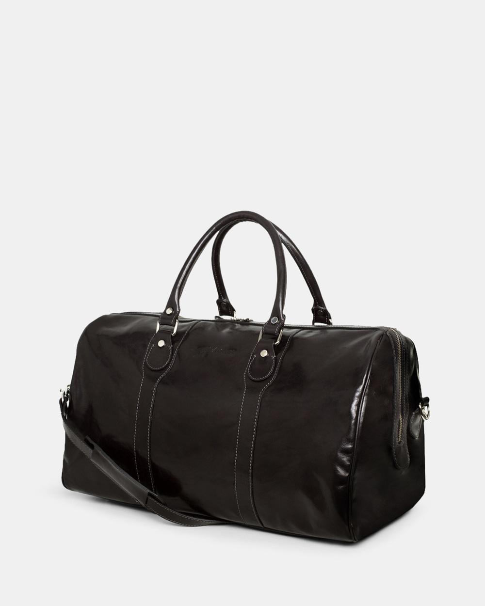 Republic of Florence Beltrami Weekender Duffle Bags Black
