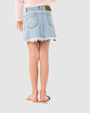 Rusty Celeste High Rise Denim Skirt Girls skirts SYB