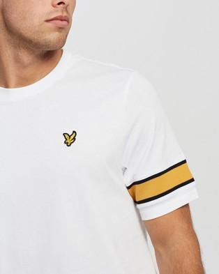 Lyle and Scott Rib Insert T Shirt - T-Shirts & Singlets (White)