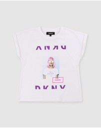 DKNY - Short Sleeve T-Shirt - Kids-Teens