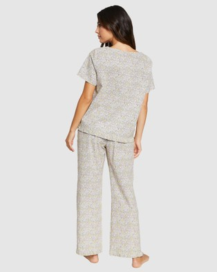 Project REM Ditsy Floral Boxy Tee Set - Two-piece sets (Ditsy Floral)