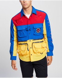 Polo Ralph Lauren - Classic Fit Patchwork Utility Shirt - Exclusives